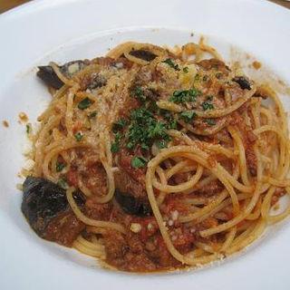 茄子と挽肉のボロネーゼ(イタリア食堂 カルネヴァーレ )