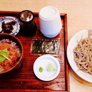 天しんの昼ご飯(手碾き蕎麦天しん )
