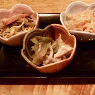 おばんざい3種盛り(乙訓旬菜 和み (オトクニシュンサイナゴミ))