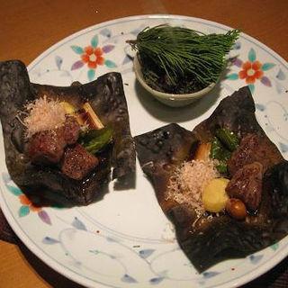 会席料理(おまかせコース)(赤坂 丈太郎 )