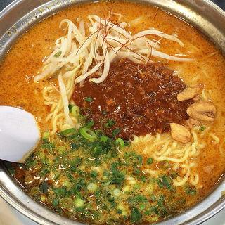 麻辣炎鍋麺(ラーメン 亜麺坊 上野店 )