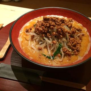 濃厚鶏そぼろ担々麺(鳳 )