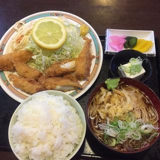 イカフライ定食(松喜庵)
