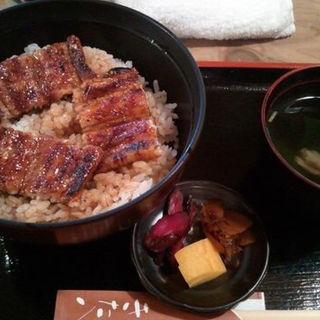 鰻丼(きた八 (いきうおりょうり きたはち))