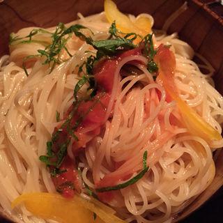 和風トマトのカッペリーニ(くのいちコース)(ニンジャ アカサカ (NINJA AKASAKA))