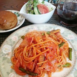 スパゲッティセット(無国籍料理 シンドバット )