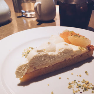 夏みかんのチーズタルト(MERCER CAFE DANRO)