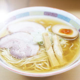 塩ラーメン(煮干鰮らーめん圓)