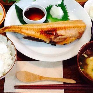 シマホッケの定食(toto kitchen)