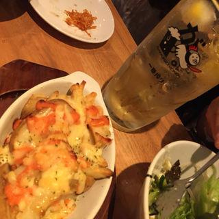 明太子チーズポテト(がブリチキン。 新橋店 )