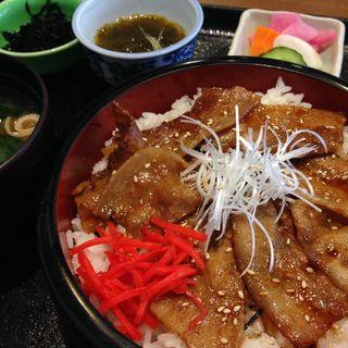 豚バラ焼肉丼(レストラン ようらく )