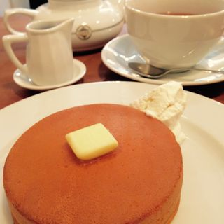 究極のパンケーキ(小さめ)(ほそつじいへえ ティーハウス (TEA HOUSE))