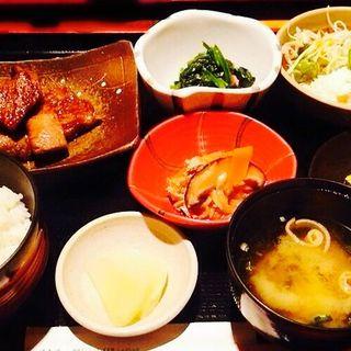 おすすめ伊賀肉ステーキランチ(もりつぢ )
