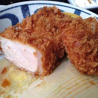 ヒレカツ定食(120g)(こだわりとんかつ播 )