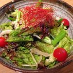 四種ネギのグリーンサラダ