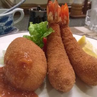 フライ定食(洋食の店 みしな )