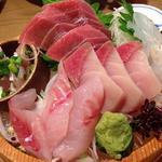 本日のセリ買い鮮魚盛り(三種盛り)