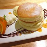 ショコラオレンジ・パンケーキ