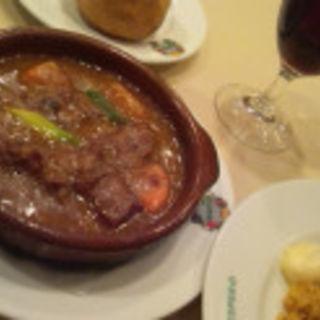 牛肉のシチュー (日替わりランチ)(スペイン料理銀座エスペロ みゆき通り店)
