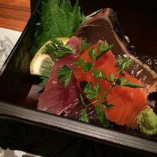 鮮魚の盛り合わせ(裏NO庭 銀座店 )
