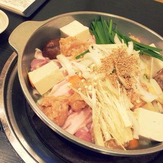 ちゃんこ鍋 塩味(玉海力 銀座店)