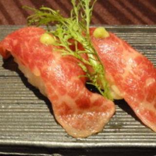 常陸牛にぎり(Seasonal Dining RIB)