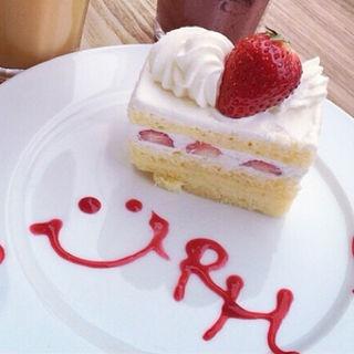 ショートケーキ(RH Cafe 千駄ヶ谷店 (アールエイチカフェ))