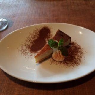 チーズケーキ(Bistro flatcafe (ビストロ フラットカフェ))