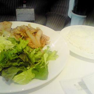 豚バラ肉の生姜焼き(ラ・カズッチャ)