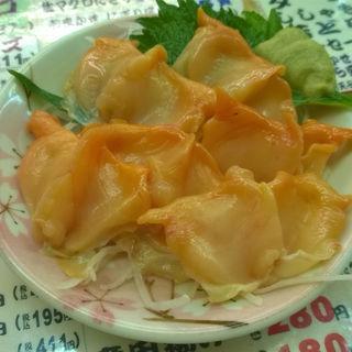 赤貝刺身(魚庭本店 )