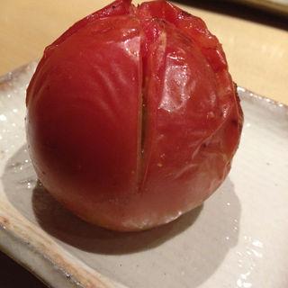野菜焼 トマト(銀座とりや幸 )