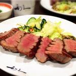 牛タン【極】定食(牛たん炭焼き 利久 仙台駅店 (ぎゅうたんすみやき りきゅう))