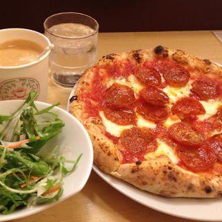 サラミのピザ(チェルキオピザ)