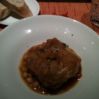 鶏モモ肉の軽い煮込みカスレ風(ビストロ石川亭COREDO室町店 ( ビストロいしかわてい ))