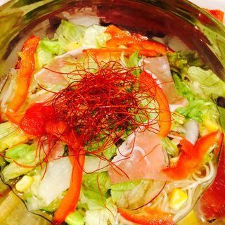 サラダ冷麺定食(シジャン 京都ポルタ店 )
