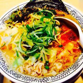 野菜肉そば(丸源ラーメン 垂水名谷店 )