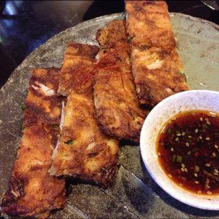 魚介と旬菜のチヂミ(soulgate)