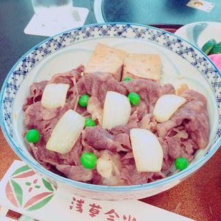 百年牛丼(浅草・今半別館)