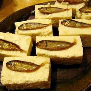 スクガラス豆腐(ゆんたく )