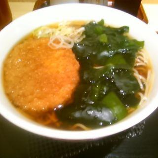 わかめ蕎麦(いろり庵きらく 東戸塚店 )