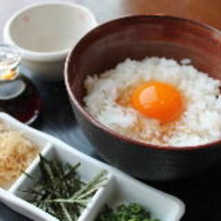 比内地鶏の玉子かけご飯(てんまい )