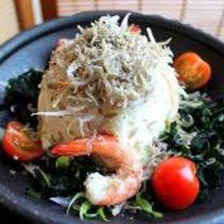 ちりめん山椒と豆腐の梅しそサラダ(てんまい )