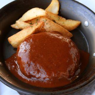 ハンバーグセット(TOOTH TOOTHParadise Kitchen (トゥーストゥース パラダイスキッチン))