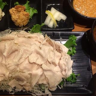 三元麦豚ロース冷しゃぶ定食(新宿さぼてん 山王パークタワー店 )