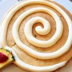 シナモンロールパンケーキ