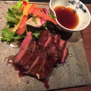 牛タンステーキ(焼とりの八兵衛 六本木店 (やきとりのはちべえ))
