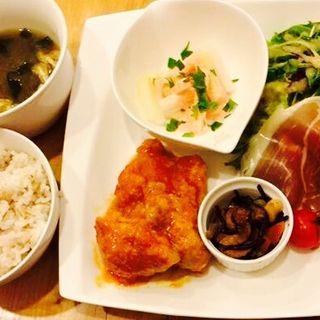 朝びき丹波鶏のチキン南蛮(vege-bal SORA)