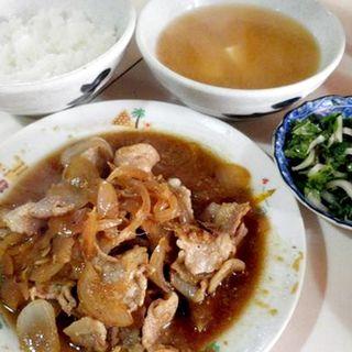 生姜焼き定食(イモヤ食堂 )