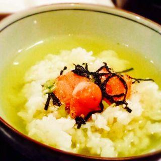 お茶漬け(焼明太子)(ナイト食堂 )
