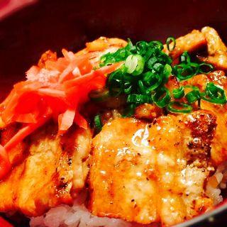 豚バラ丼(焼鳥 まさ 垂水店 (やきとりまさ))